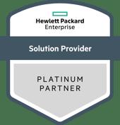 HPE Platinum Partner Insignia Logo